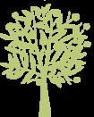Icon eine grünen Apfelbaumes.